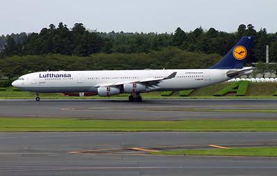 D-AIGU LUFTHANSA A340-300