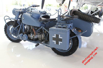 1943 BMW Motorcycle and Sidecar