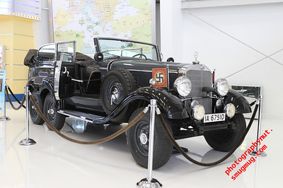 "Hitler""s 1939 Mercedes-Benz Model G4 Offener Touring Wagon"