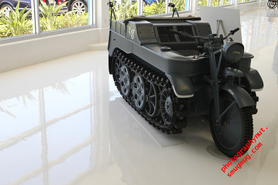 1943 German NSU Kettenkrad HK 101 Tracked Motorcycle