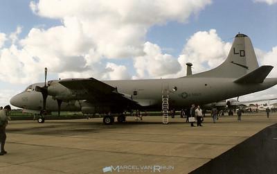 US Navy P 3 c orion at Airshow MvK Valkenburg 13 sept 1997