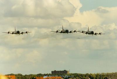 # P 3 c ii orions in formation for the International Airshow Marinevliegkamp Valkenburg 13 september 1997