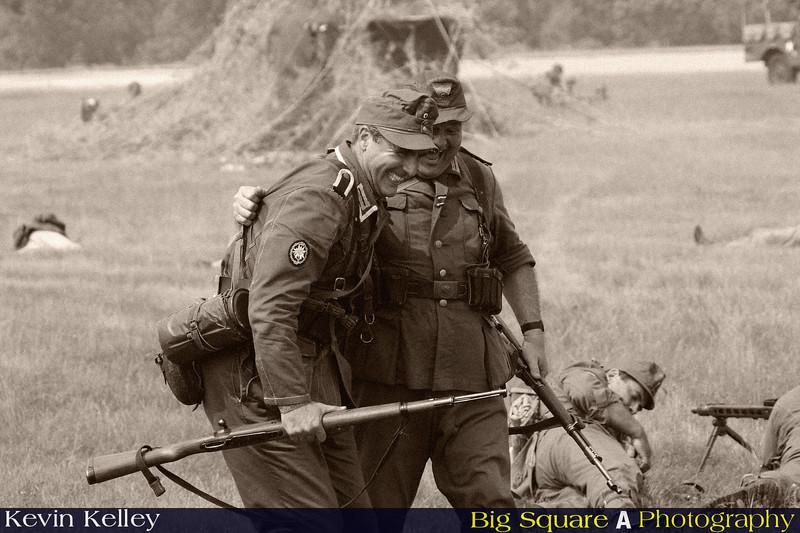 Pretend war is a laugh