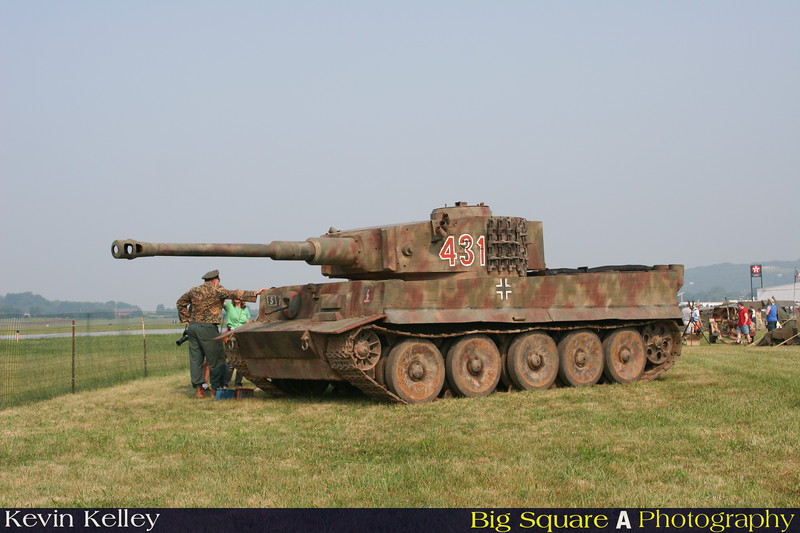 Replica Panzer used in the film Saving Private Ryan