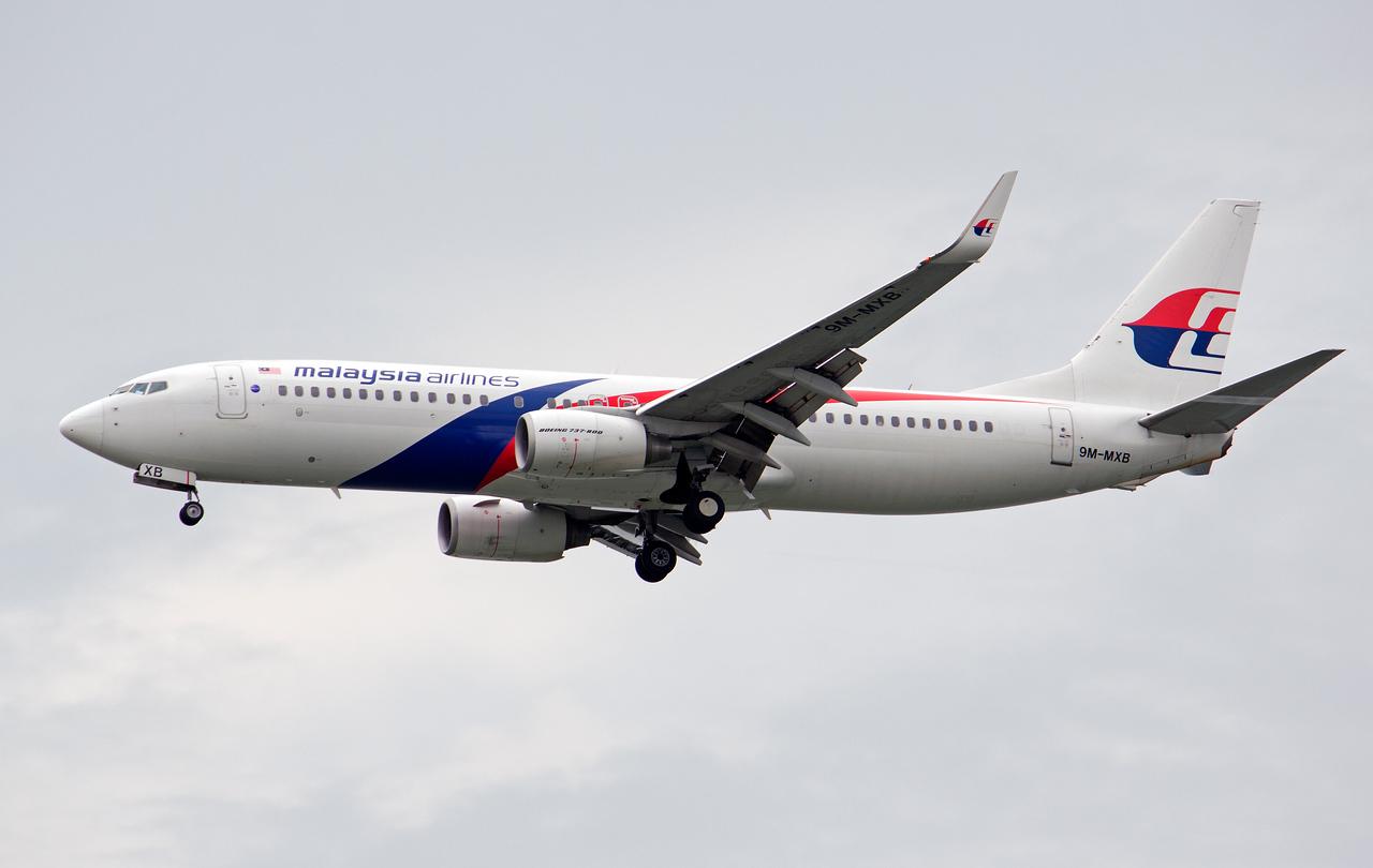 9M-MXB MALAYSIAN AIRLINES B737-800