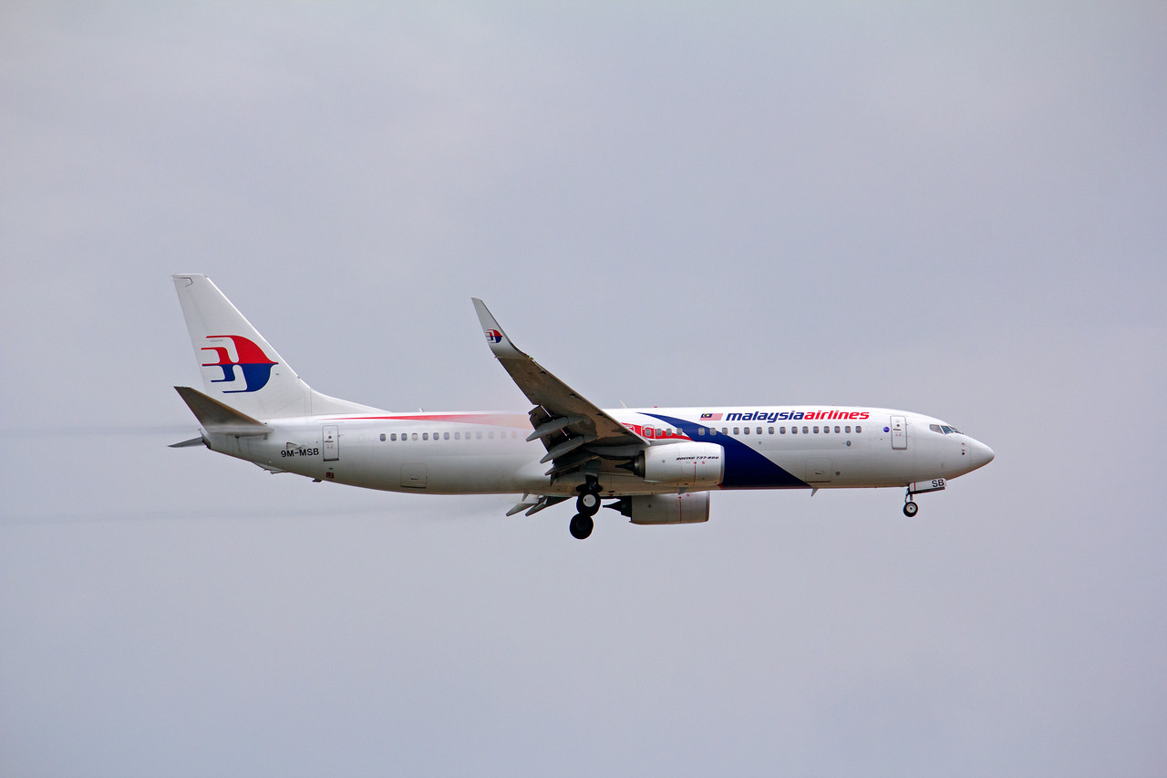 9M-MSB MALAYSIAN AIRLINES B737-800