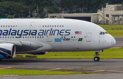 9M-MNF MALAYSIA AIRLINES A380 ( 100 A380)