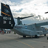 MV-22 Osprey from the VMMT-204 (Marine Tilt Rotor Training Squadron)