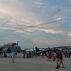 Twilight air show