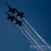 F/A-18 Hornets in Silhouette