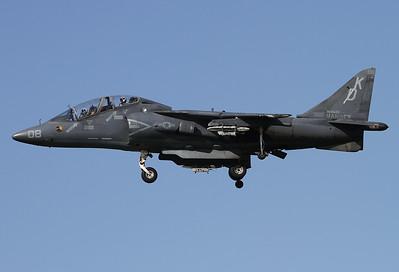 USA - Marines McDonnell Douglas TAV-8B Harrier II  Yuma - MCAS / Intl (YUM / KYUM) USA - Arizona, November 21, 2014 Reg: 164542 Code: KD-08 Cn: T024 VMAT-203 'Hawks' TAV-8B Twinseater