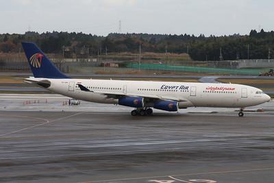 SU-GBN EGYPT AIR A340-200