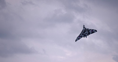The only flying Vulcan bomber, July 2014
