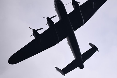 The Lancaster of the Battle of Britain Memorial Flight