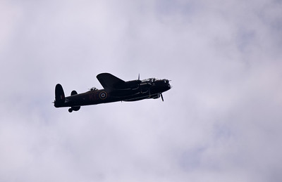 The Lancaster from the battle of Britain Memorial Flight