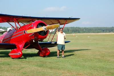 MY Flight in a Waco
