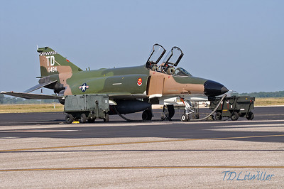 F-4E with ground support equipment MacDill 2008