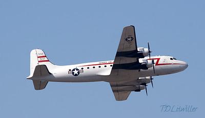 MacDill 2010  C-54 in flight