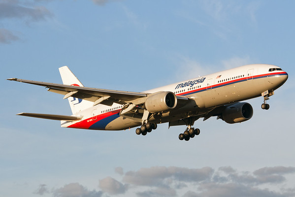 Malaysia Airlines Boeing 777-200 9M-MRB