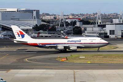 Malaysia Boeing 747-400 9M-MPF
