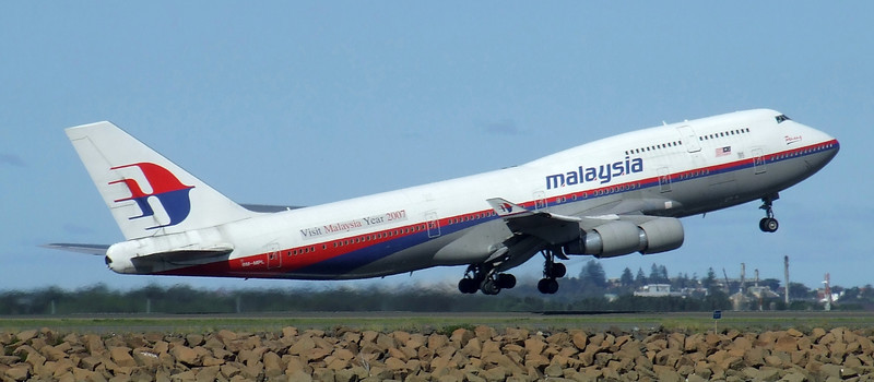 Malaysia Airlines Boeing 747-400 9M-MPL