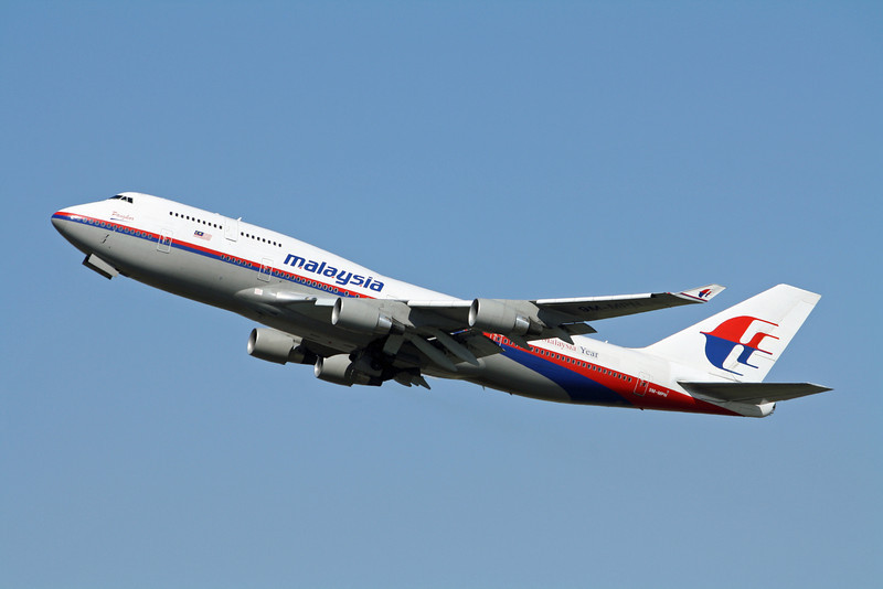 Malaysia Boeing 747-400 9M-MPN