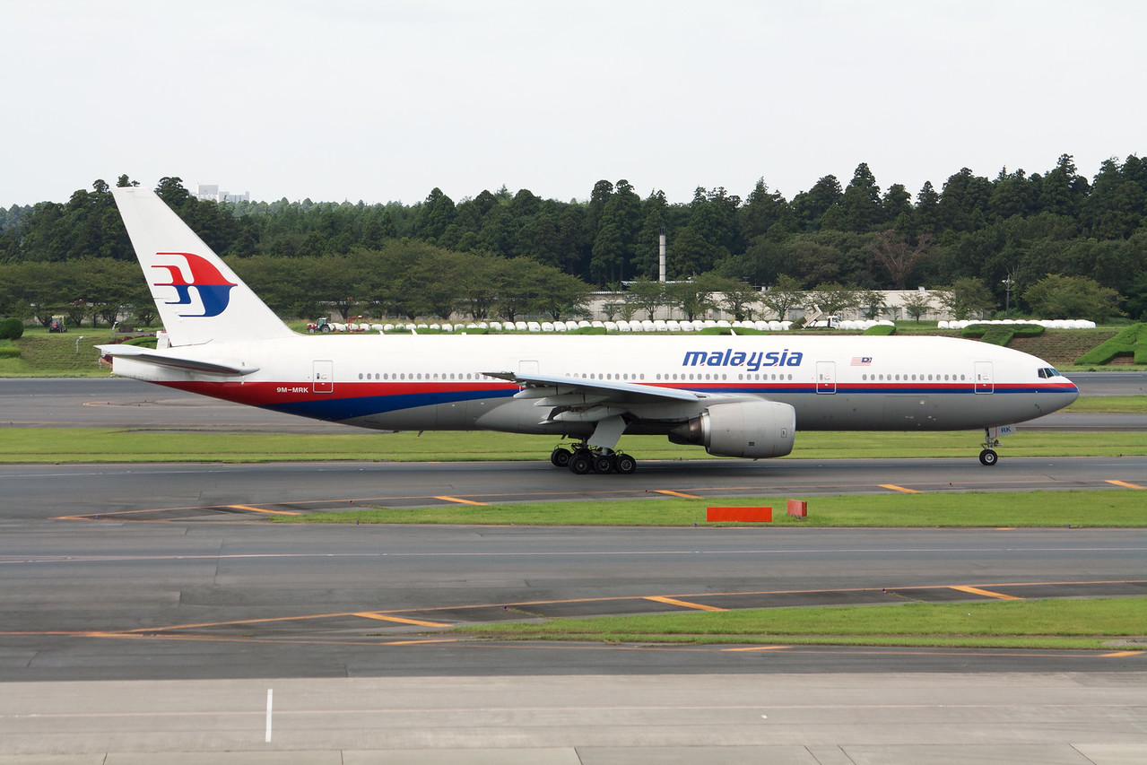 Malaysia Airlines Boeing 777-200 9M-MRK