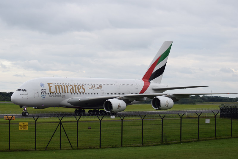 Emirates Airbus A380 A6-EOP