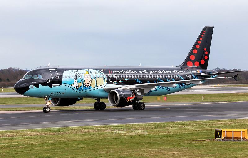 OO-SNB 'Rackham' Tin Tin painted A320