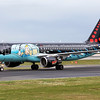 OO-SNB 'Rackham' Tin Tin painted A320