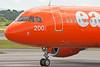 G-EZUI 'The carrot' Easyjet's reverse scheme A320.