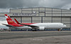 G-OBYD Nordwind Airlines back with its UK marks after rolling out of Air Livery as VP-BOQ