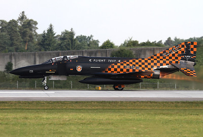 Germany - Air Force McDonnell Douglas F-4F Phantom II Ingolstadt - Manching (ETSI) Germany, June 28, 2013 Reg: 3813 / Cn: 4644 Don't let me die, I want to fly....The Phantom of the German Flight Test Center WTD 61 is wearing nice, special colours for her retirement in July 2013.