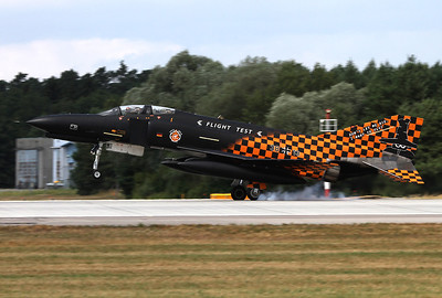 Germany - Air Force McDonnell Douglas F-4F Phantom II Ingolstadt - Manching (ETSI) Germany, July 30, 2013 Reg: 3813 / Cn: 4644 The very last flight of a German F-4 Phantom, it is time to say good-bye! The phinal touch down.