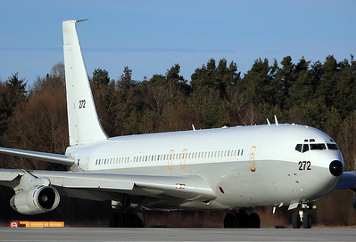 Boeing 707-3L6C(KC) Re'em Israel - Air Force REG: 272  Ingolstadt - Manching (ETSI) Germany February 5, 2017