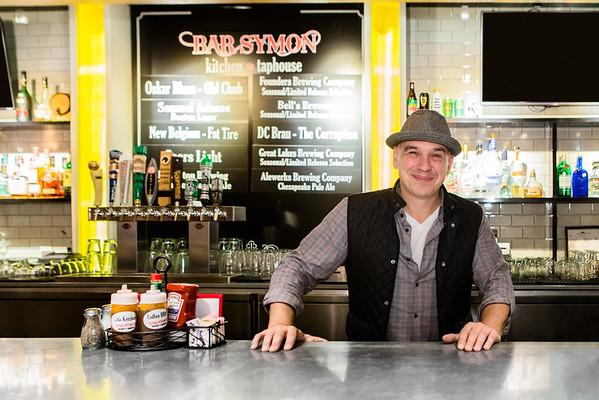 Michael Symon visits Bar Symon - Fall, 2015