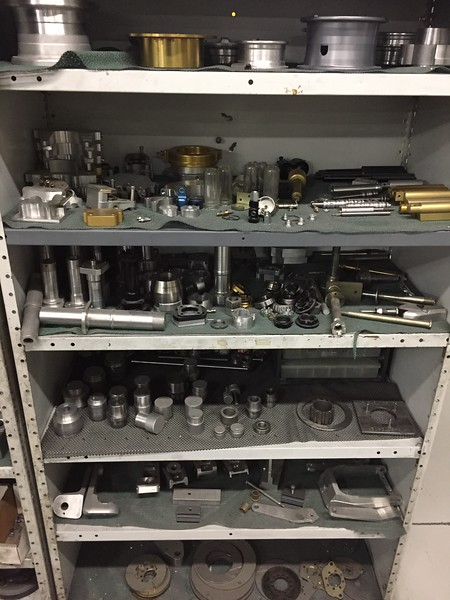 Just a small number of the various pieces and parts that they manufacture.