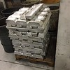 Metal ingots. I think this is alloy 356. It has some amount of magnesium in the alloy.