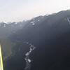 From there we headed south and flew directly over Hwy 410 towards Chinook Pass.