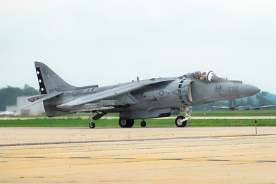 McDonnell Douglas AV-8B Harrier II - Rockford Airfest - Rockford, Illinois - Photo Taken: July 31, 2010