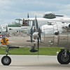 B-25J Mitchell bomber from WW2 - PANCHITO taxiing back to ramp