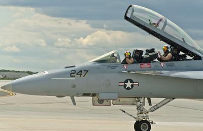 PIlot & WSO - F/A-18F - Super Hornet