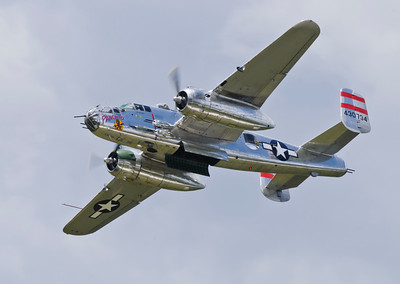 B-25J Mitchell bomber from WW2