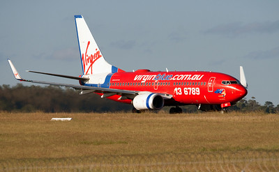 VH-VBD VIRGIN BLUE B737-700