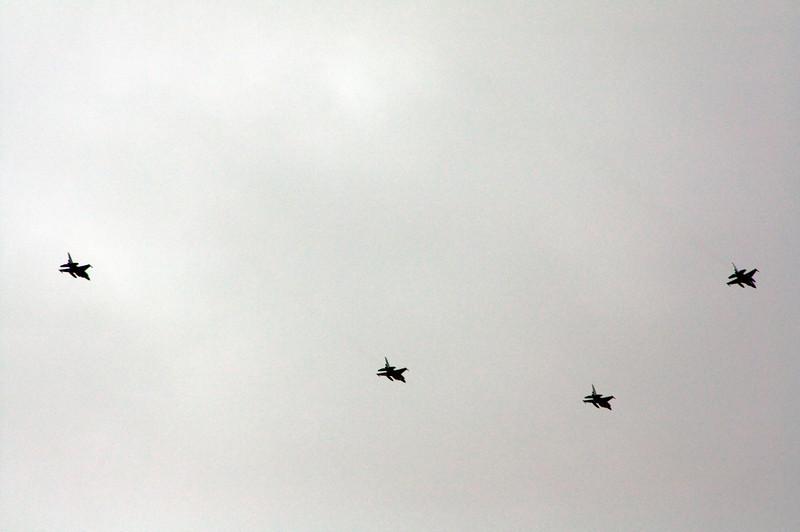 Memorial Day 2009 USAF Flyover