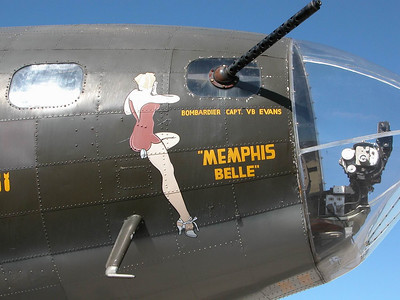 Memphis Belle at Sebring Airport Florida
