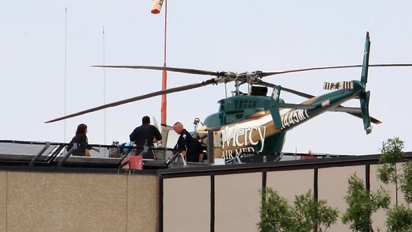 Mercy Air Med medic, Russell Piehl
