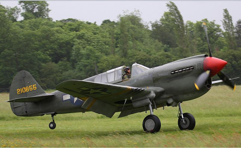 P40 PILOT PETE TEICHMAN