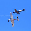 P-51 and Bf-109