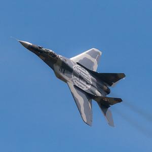 RIAT 2012. Mikoyan MiG-29 Fulcrum. Polish Air Force.